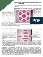 Metodologia Basica de Diseño Curricular Para La Educacion Superior