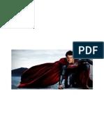 Superman in Cape