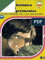 La Botanica en Experimentos (Ediciones Altea) JPR504