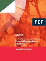 Diagnóstico Anual 2015 Intervenible(Segunda Fase PME)