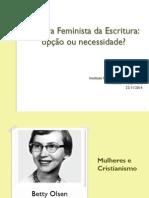 Leitura Feminista Da Escritura
