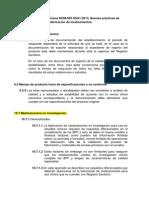 Resguardo de Documentos NOM 059 SSA1 2013