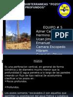 Fuentes Subterraneas Exposicion