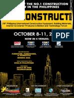 Philconstruct 2015 Brochure