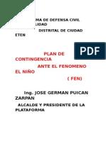 FEN-Ciudad Eten 2015 - 2016