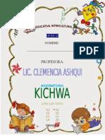Guia 22 Kichwa