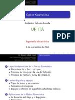 OyO - P1- Optica Geometrica (1)