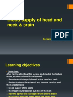 Blood Supply of the Head, Neck and Brain