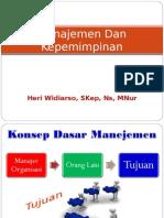 1. Konsep Manajemen Keperawatan
