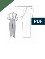 Estudio Sobre El Pantalon de Caballero