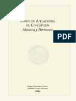 Corte de Apelaciones de Concepción. Memoria y Patrimonio. (2012)