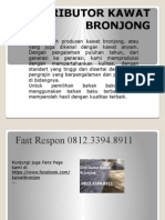 Agen Kawat Bronjong, Metode Bronjong, Metode Kerja Pemasangan Bronjong, Fast Respon 0812.3394.8911