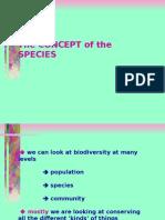 4.3 Species Concept