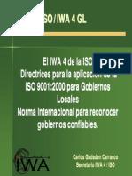 Directirces ISO Para Gobiernos Locales