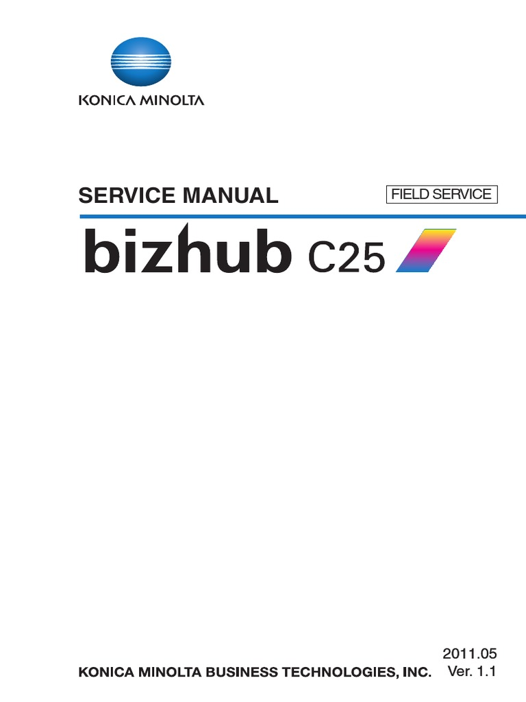 Konica-Minolta Bizhub C25 fsm.pdf | Ac Power Plugs And Sockets | Electrical  Connector