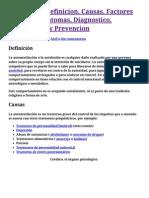 Autolesión_ Definicion, Causas, Factores de Riesgo, Sintomas, Diagnostico, Tratamiento y Prevencion - Autolesion.com