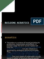 Acoustics Lecture