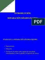 Separación Sólido-líquido