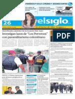 Edición Impresa El Siglo 26-09-2015