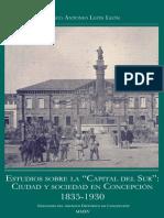 Estudios Sobre La Capital Del Sur. Ciudad y Sociedad en Concepción, 1835-1930. (2015)