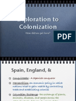 exploration to colonization notes