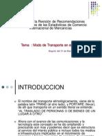 Modo de Transporte en El Peru