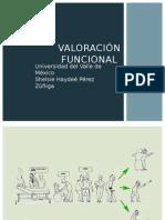 Valoración Geriatrica Funcional