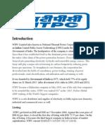 Initial Report NTPC