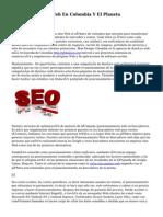 Posicionamiento Web En Colombia Y El Planeta