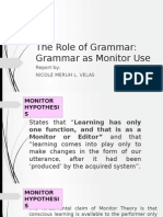 Role of Grammar