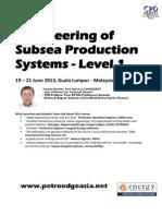 Engineering Sub Sea Production