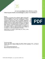 A Constituição de Um Novo Paradigma Das Ciências Sociais. Observações Teórico-Metodológicas Sobre Les Héretiers