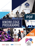 The Hotel Show Dubai knowledge programme