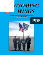 Wyoming Wings Magazine, August 2008