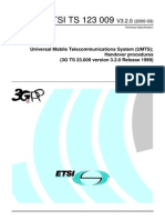 ETSI-3g Handover Procedures