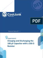 Charging & Discharging a Capacitor With Resistor