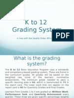 Grading System Gr 1-4