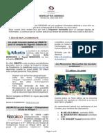 AIENSIAS Newsletter de la période  Juillet Août 2015