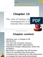 CIHRM (Chapter 13) (Student Slides)