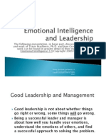 Emotional Intelligence Poe