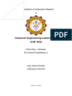 A Compilation of Laboratory Reports