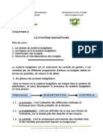 Chapitre 2. Cours Gestion Budgetaire