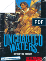 Uncharted Waters Manual SNES