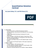 2009 Summit a Quantitative Solution Made Practical_v11 (1)