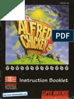Super Alfred Chicken Manual SNES