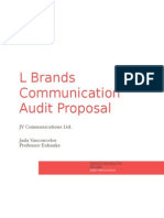 communication audit proposal- l brands
