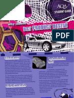 AQA A-Level D&T Leaflet