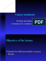 Cancer Treatment 1
