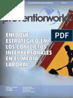 ENFOQUE ESTRATÉGICO EN LOS CONFLICTOS INTERPERSONALES EN EL MEDIO LABORAL