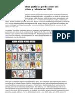 Hor?scopos - encontrar gratis las predicciones del hor?scopo 2010, festivos y calendarios 2010